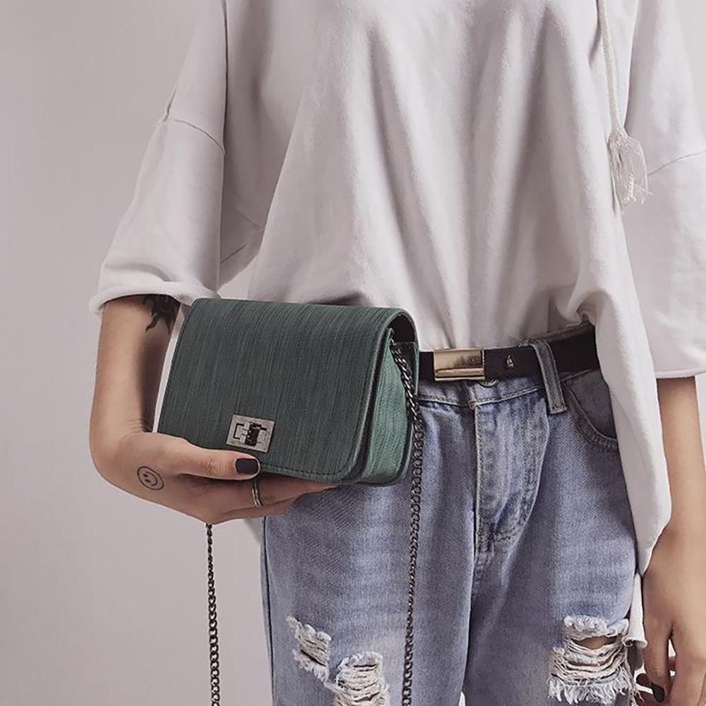 85896c00f61c Messenger Bag Waterproof Shoulder Bag Travel Crossbody Bag Women Casual  Summer Solid Vintage Female Casual Sling Messenger Bags Leather Bags For  Women ...