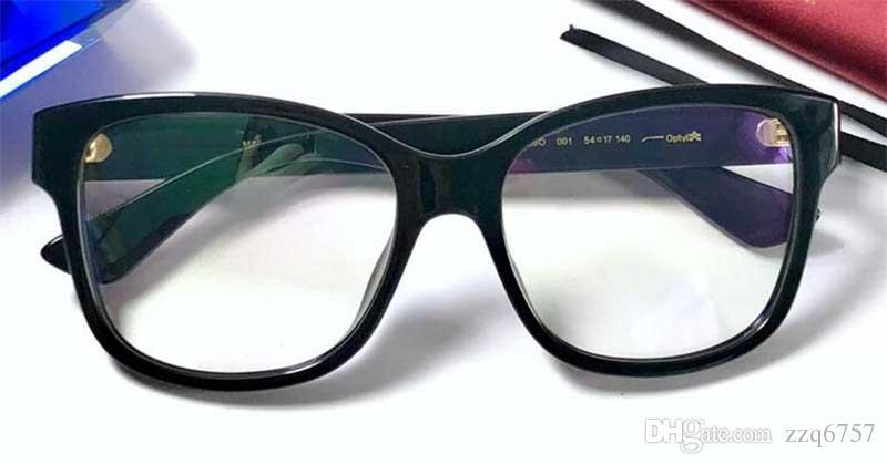 Compre Novo Designer De Moda Óculos De Prescrição Óptica 0038 Quadro De Olho  De Gato Estilo Popular Venda De Alta Qualidade HD Lente Clara De Zzq6757,  ... 373a73f168