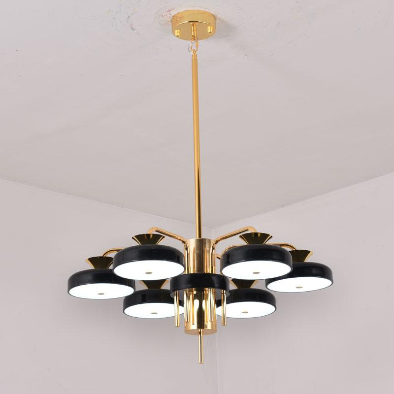 Ceiling Lights & Fans Chandeliers Responsible Led Hanging Lamps Novelty Chandelier American Style Living Room Lights Bedroom Chandeliers Iron Glass Fixtures Nordic Lighting
