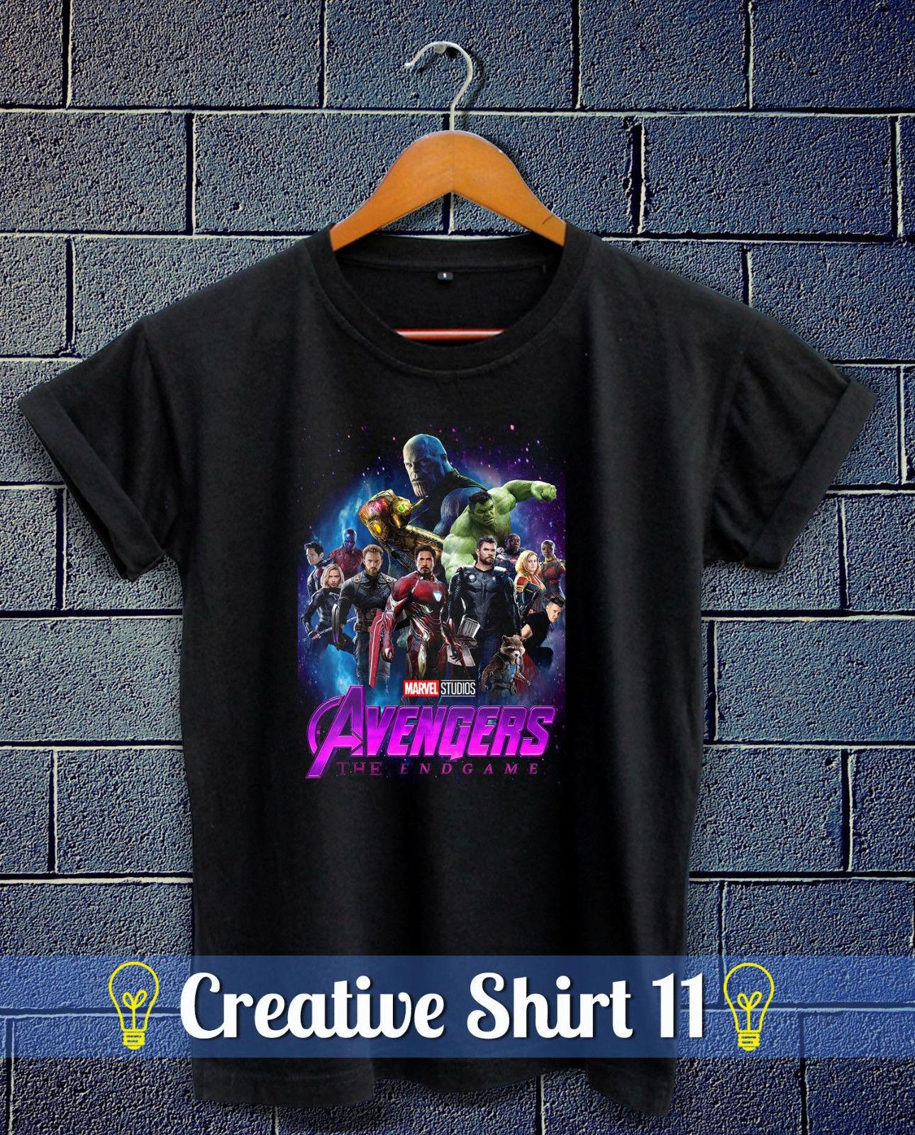 4bf04aa3222 New Avengers 4 THE ENDGAME 2019 Marvel Studio Thanos T Shirt S XXL T Shirts  In A Day Awesome Tee Shirt Designs From Xsy17tshirt, $12.05  DHgate.Com