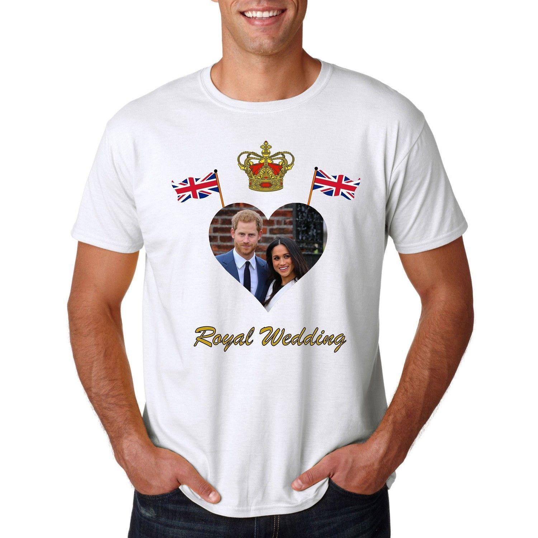 Royal Wedding T Shirts Prince Harry Meghan Markle Tied Knot Windsor