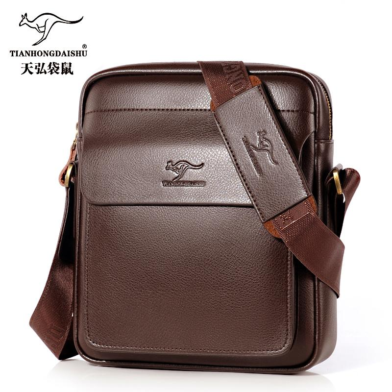 83fc8850d1c 2018 New Men S Messenger Bag Men Small Leather Shoulder Bags Male Casual  Mini Flap Back Pack Man Business IPAD Messenger Bags Luxury Bags Cross Body  Bags ...