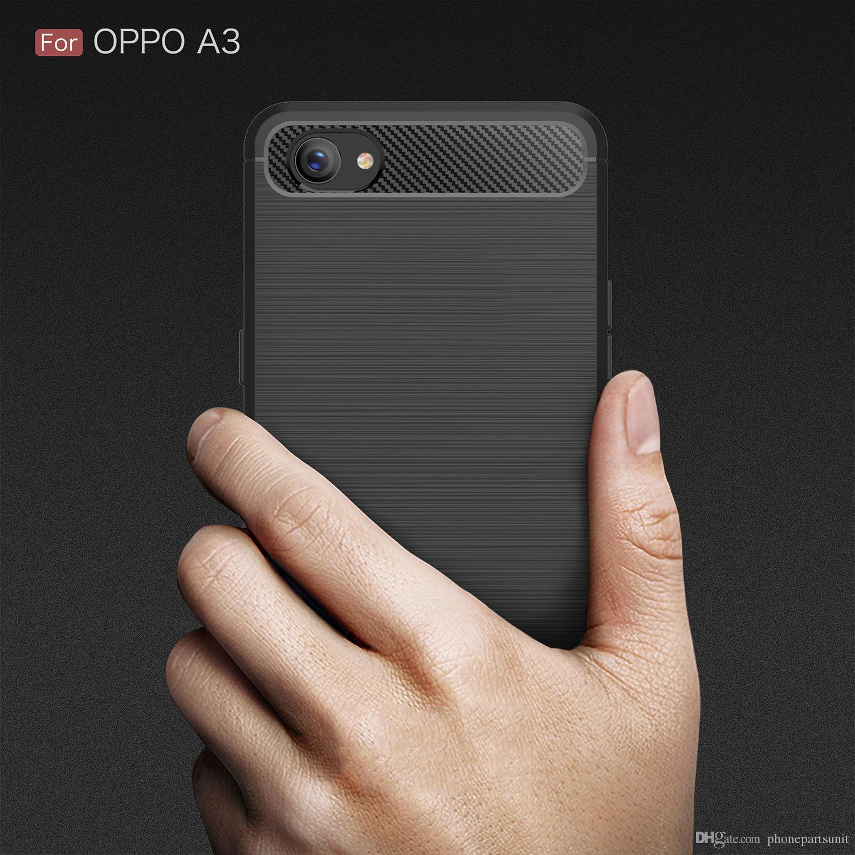 7838b9a16d6 Fundas Para Celular Personalizadas 50 Unids / Lote Nueva Caja Del Teléfono  Para Oppo R15 Pro Realme1 A1 A83 A79 R11S R11 Plus A71 Fibra De Carbono  Suave De ...