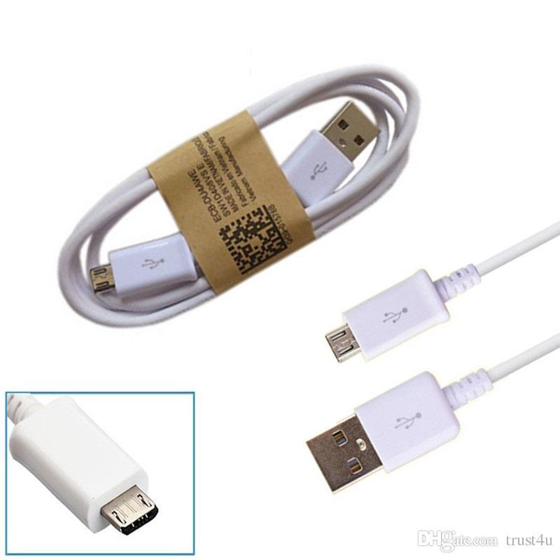 1m 3FT OD 3.4 Micro V8 5pin dati USB di sincronizzazione cavo di carica Samsung galaxy s3 s4 s6 Android Phone