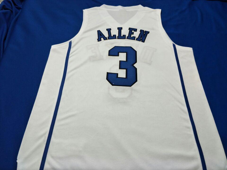 premium selection 4aec2 3d0d9 Men Duke Blue Devils #3 Grayson Allen white Black blue College Jersey Size  S-5XL or custom any name or number College jersey
