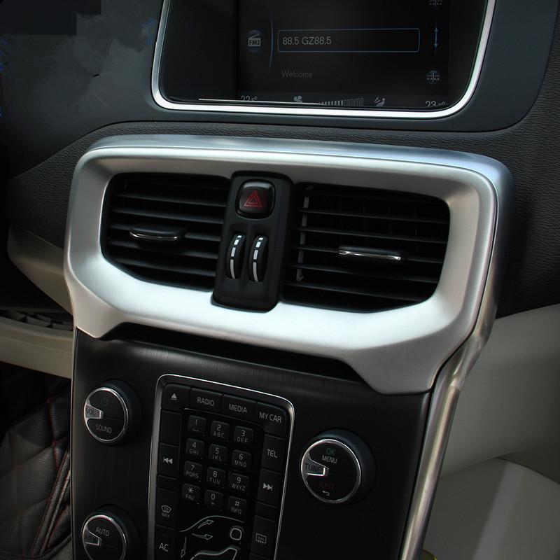 Interior Console Air Conditioning Outlet Decorative Cover Trim Rhdhgate: Volvo Audio Accessories At Gmaili.net