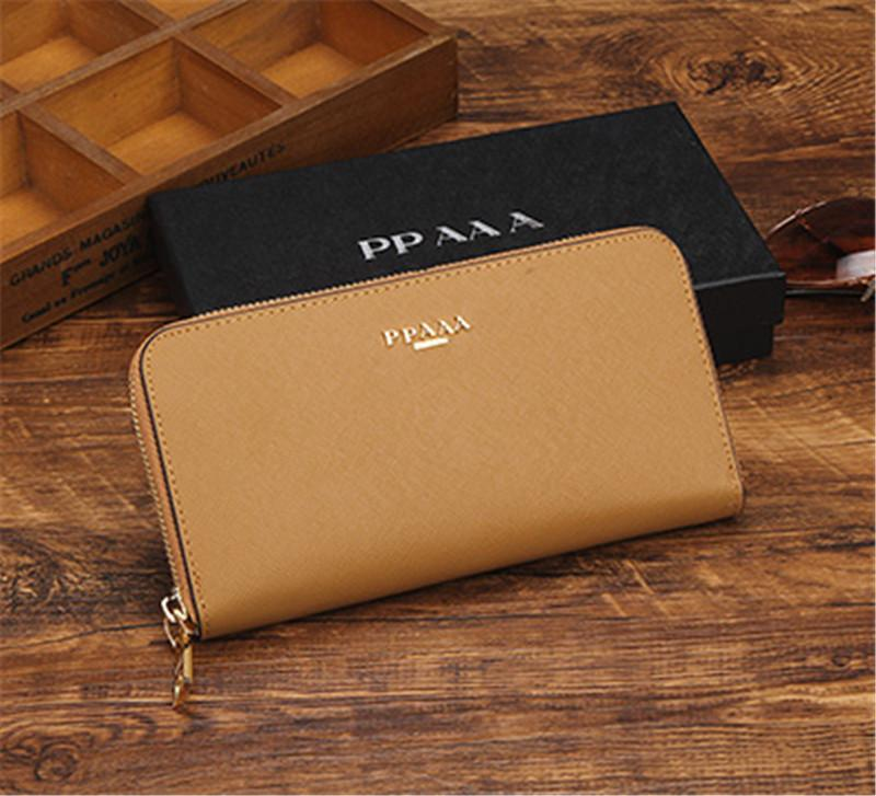 45f51a925a9c Cheap Fashion Zipper Ladies Purses Hot Luxury Women Hand Purse Brand  Designer Leather Wallets Optional Wallet High Qualitywith Box