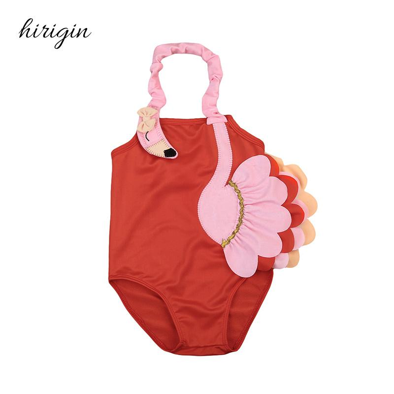 2018 Hiriign Brand Polyester Newborn Kid Baby Girls 3d Flamingo Pattern Swimsuit Swimming Costume Swimwear Ages 1 6y From Baiqian $24.11 | Dhgate.Com  sc 1 st  DHgate.com & 2018 Hiriign Brand Polyester Newborn Kid Baby Girls 3d Flamingo ...