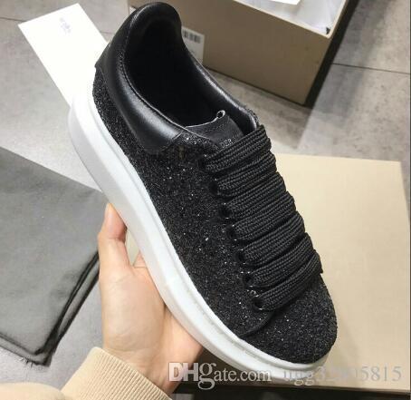 Yeni ürün marka bayan düz ayakkabı sopa matkap 4 renk rahat çift ayakkabı dantel rahat ayakkabılar AB 35-46SIZE ücretsiz kargo