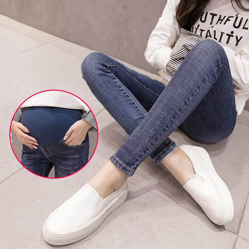 ef119c6b681aa 2019 Summer Maternity Jeans For Pregnant Women Pregnant Pants Prop Belly  Legging Trousers Maternity Clothes Pregnancy Clothing C585 From Deve, ...