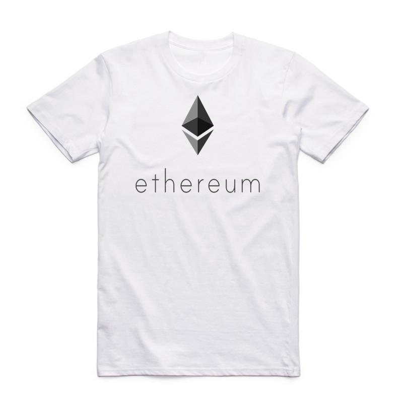 1769fbd45 Ethereum Printed T Shirt For Men Short Sleeve O Neck Summer Geek Smart  Contracts & Blockchain Fractal Pattern T Shirt Tshirt Quirky T Shirt Designs  Purchase ...