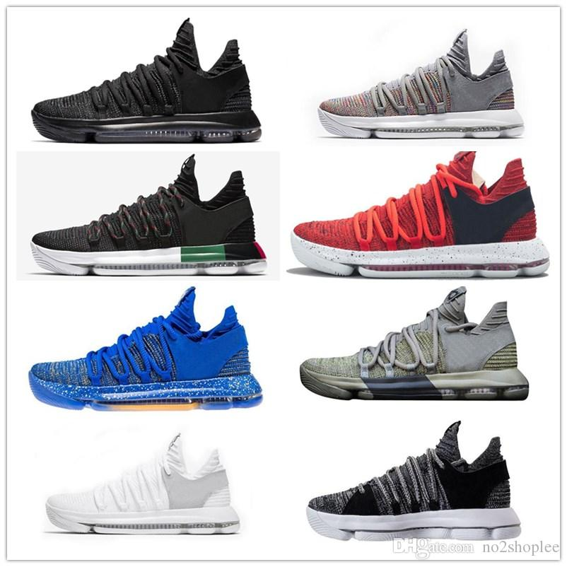 low priced 87bc2 32274 NEW Basketball Shoes MVP Oreo Black City Edition Multi Color White Chrome  UniversIty Red Numbers Igloo Kevin Durant Sports Shoes Sneaker KD Jordans  Running ...