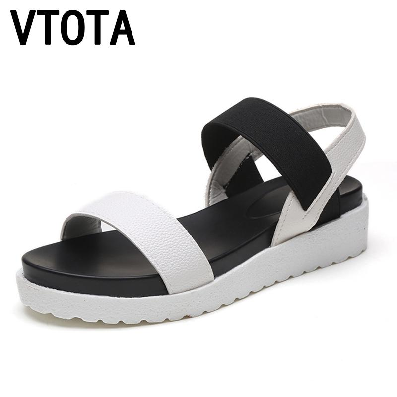 eb6f8f44ce043c Summer Shoes Woman Hot Selling Sandals Women 2016 Peep Toe Flat Shoes Roman  Sandals Women Sandalias Mujer Sandalias X278 Boys Sandals Dansko Sandals  From ...