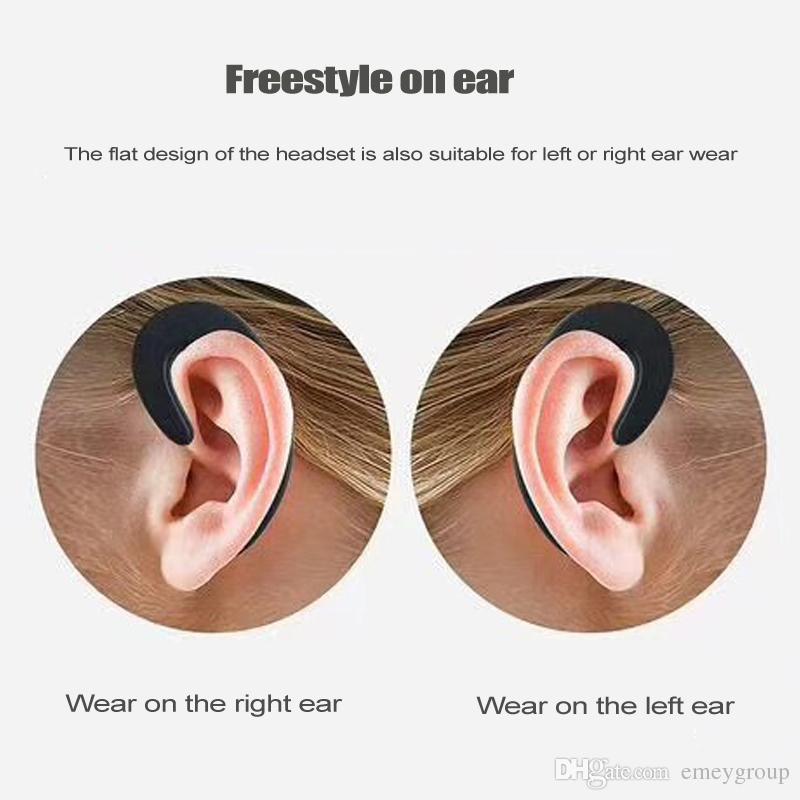 s-103 NOT in-ear Earphone Stereo Wireless Bluetooth Earphone Ear-hook Headset Headphones HD call Wireless Earphone with Mic