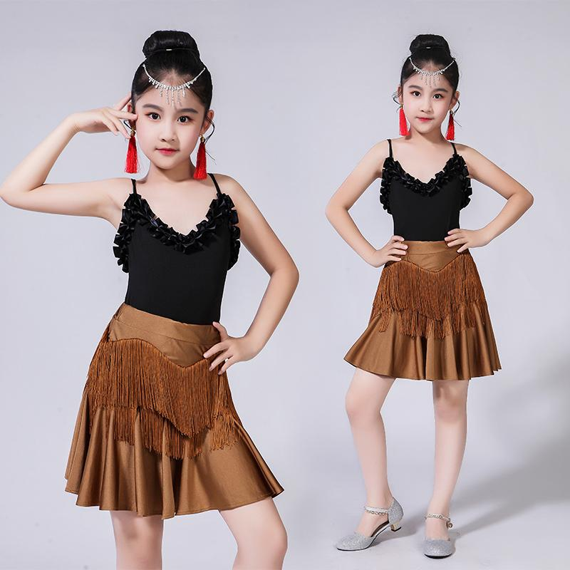 5fd5e2e9b 2019 Child Kid Children Professional Latin Dance For Sale Dress Girls White Ballroom  Dancing Dresses Kids Rumba Cha Cha Costumes From Beautyjewly, ...