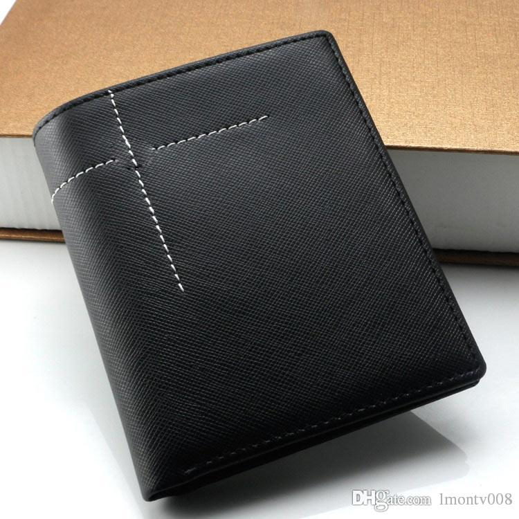 New Men Luxury Popular The Fashion Business Mb Genuine Leather