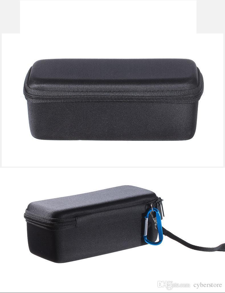 Für soundlink mini 1/2 bluetooth drahtlose lautsprecher eva tragetasche tasche tasche abdeckung tragbare reißverschluss tragen box halter