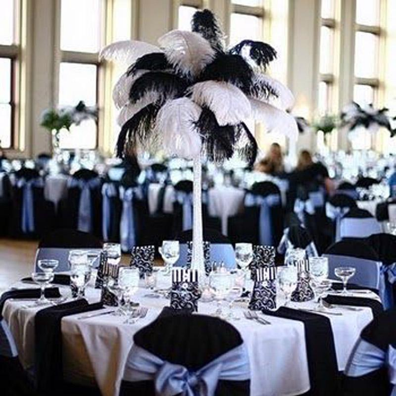 35 40cm colored ostrich feathers wedding party decorations cavalier rh dhgate com