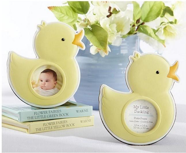 2018 New Arrive Baby Duck Photo Frame Baby Shower Party Place Card ...