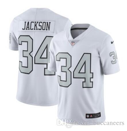 Marshawn Lynch Jersey Raiders Derek Carr Bo Jackson Jordy Nelson Hot ... 225743a0a