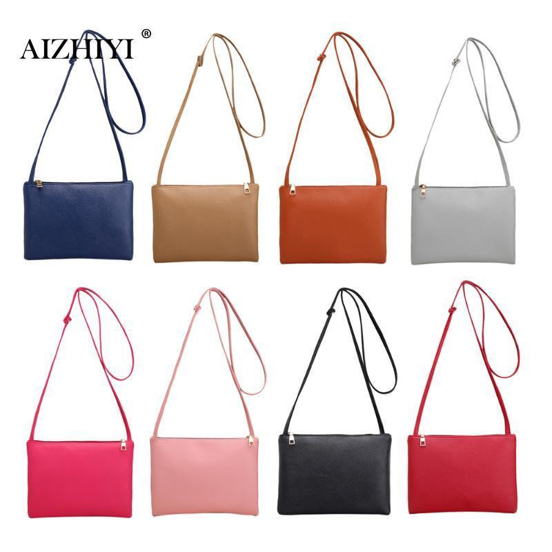 Women Famous Brand Fashion Small Handbags Hot Sale Classic Simple Women  Leather Messenger Bags Shoulder Mini Bag Crossbody Bag Leather Satchel  Ladies Bags ... dafe46e7c