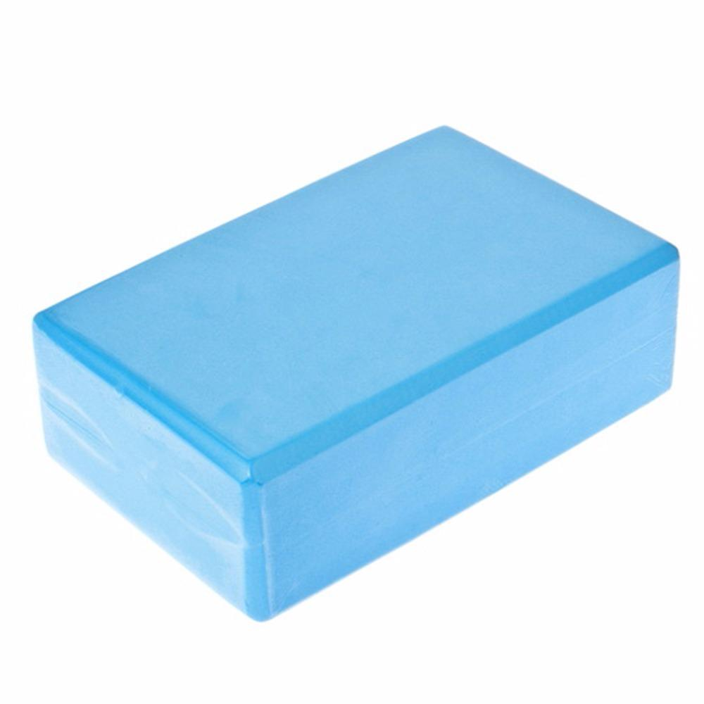 Yoga Block Brick Pilates Foaming Foam Home Exercise Practice Fitness Gym Sports Workout Stretching Aid Body Shaping Training