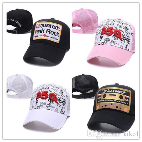 89c14bc4d6e Newest All Black Golf Cap for Men And Women 2d Icon Unisex DEUS Mesh ...