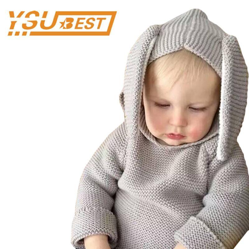 1 5yrs Boys Girls Baby Fall Sweater Knit Clothing 2017 Spring Rabbit
