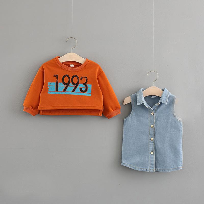 Efficient Genuine Kids Toddler Girl Denim Skort Size 24m Girls' Clothing (newborn-5t)