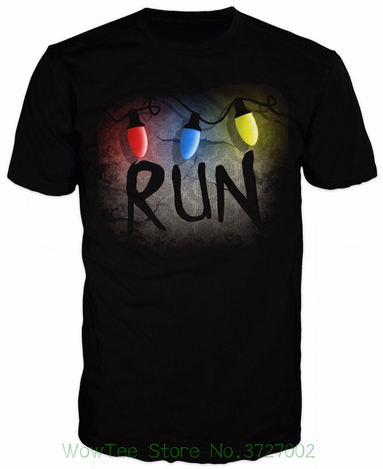 05c9647e6b0 Runner T-shirt Inspired By Stranger Things 2018 New Pure Cotton Short  Sleeves Hip Hop Fashion Mens T-shirt Online with  32.14 Piece on Wowteestore s  Store ...
