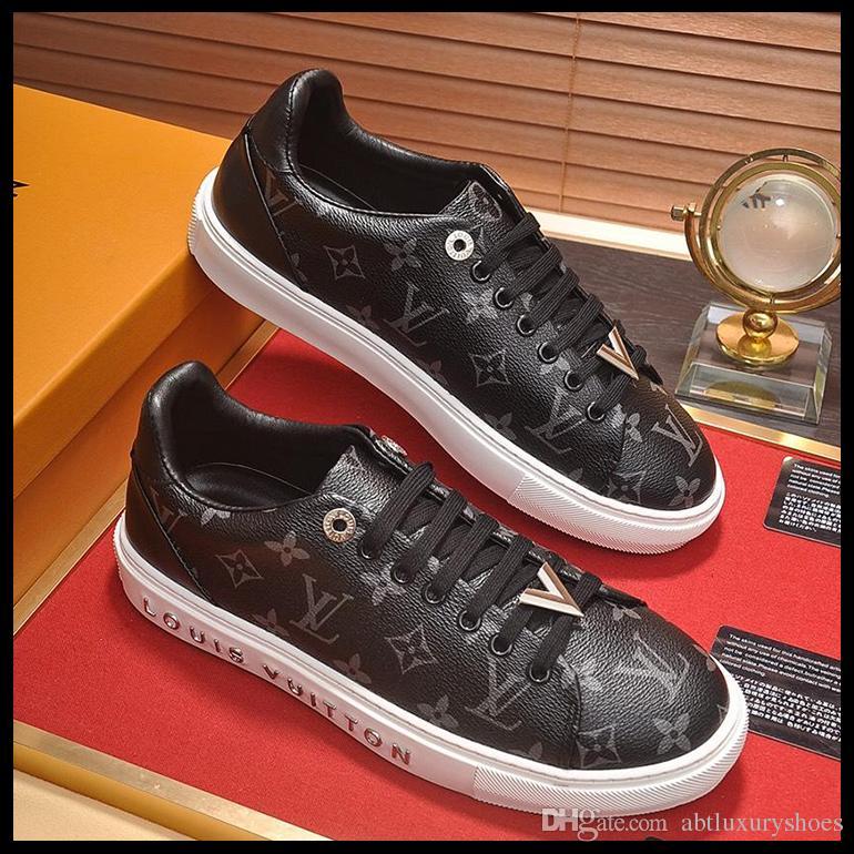 4bf42990d862e Compre Calzados Informales Calzados Diseño De Ocio Zapatillas De Deporte De  Alta Calidad Para Hombre De Época Con Caja De Origen Zapatos Deportivos  Marca De ...