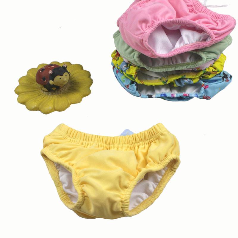 fa3f56560 Compre Pañales Para Nadar En La Piscina Pañales Pantalones De Natación  Impermeables Pañal De Bebé Reutilizable Trajes De Baño Pañales Pañales Para  Nadar ...