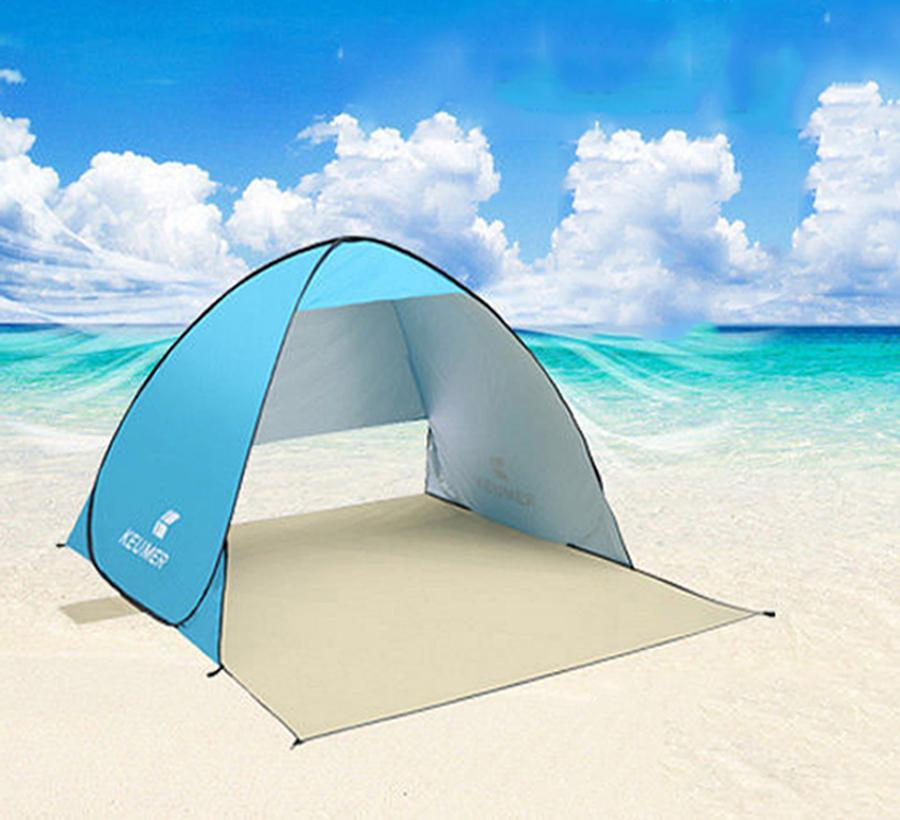 a8ae3e506ec4 2 Person Ultraligh Automatic Beach Tent UV Protection Shelter ...