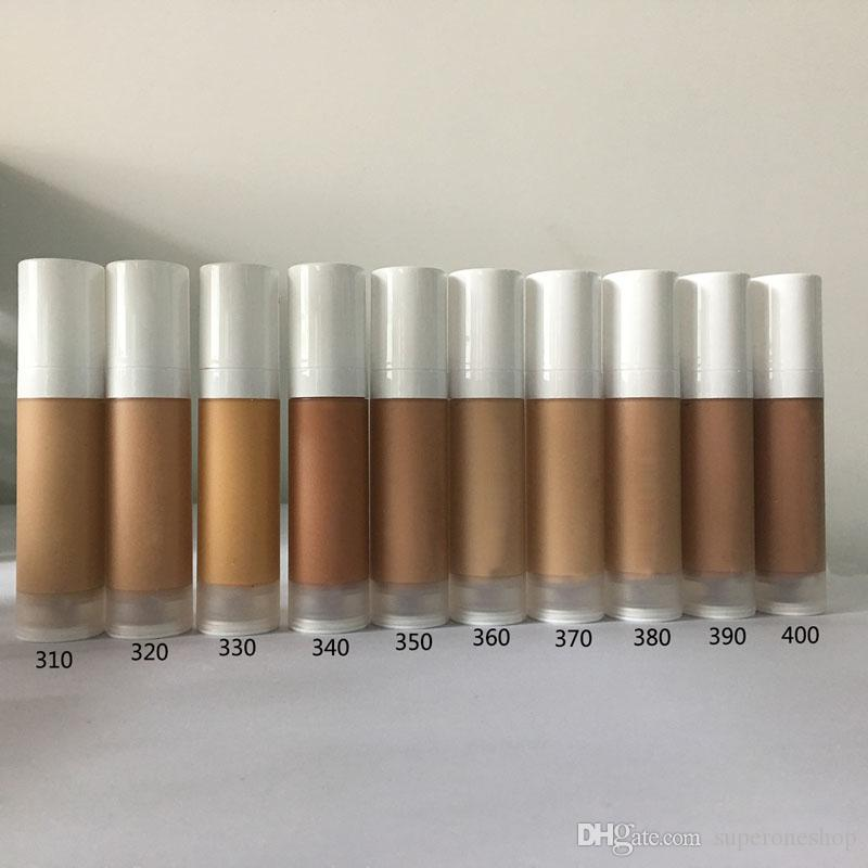 High quality Hot Brand Makeup Foundation Hypoallergenic Waterproof 32ml make up foundation Skin Concealer liquid foundation