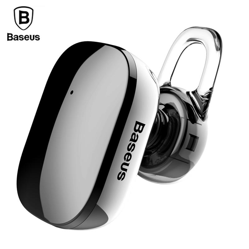 Baseus A02 Mini Bluetooth Earphone Hands Free Wireless Bluetooth Headset  Headphone With Mic 4.1 Ear Hook Earbuds Earpieces Earphones Noise Cancelling  ... 334e82972b