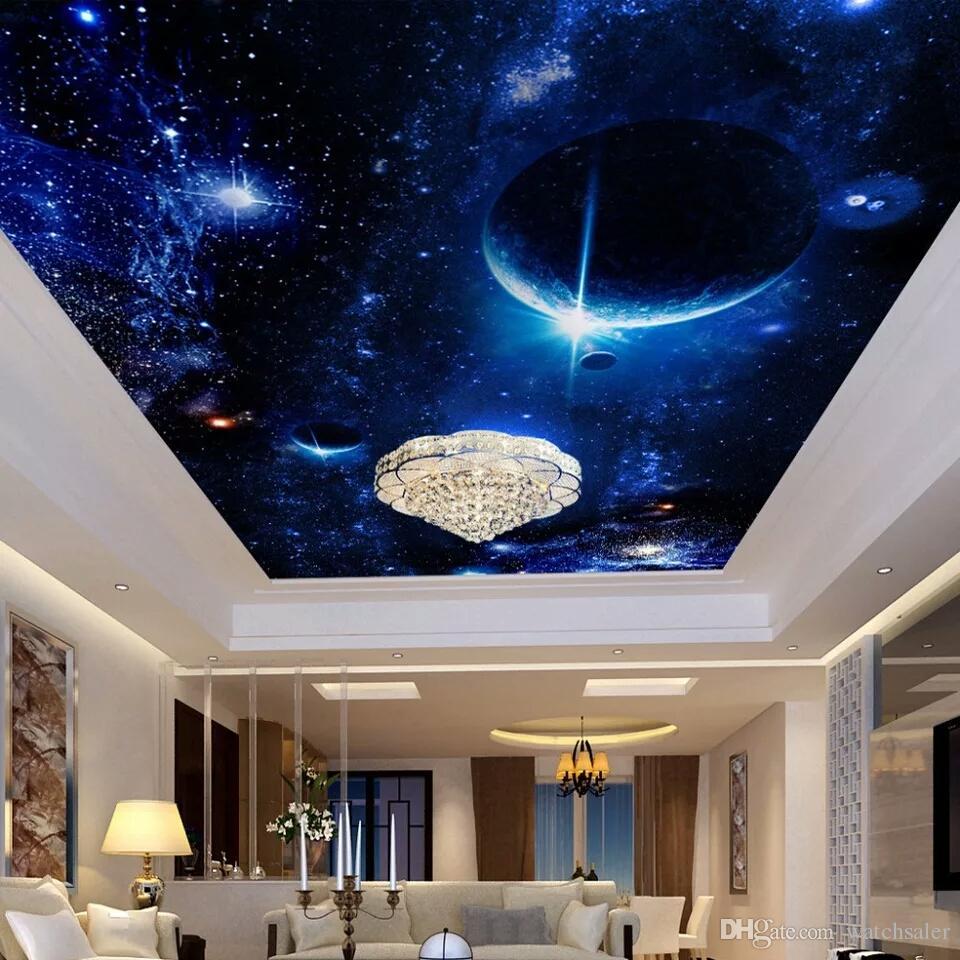 Großhandel Moderne Tapete 3d Wandmalereien Für Wohnzimmer