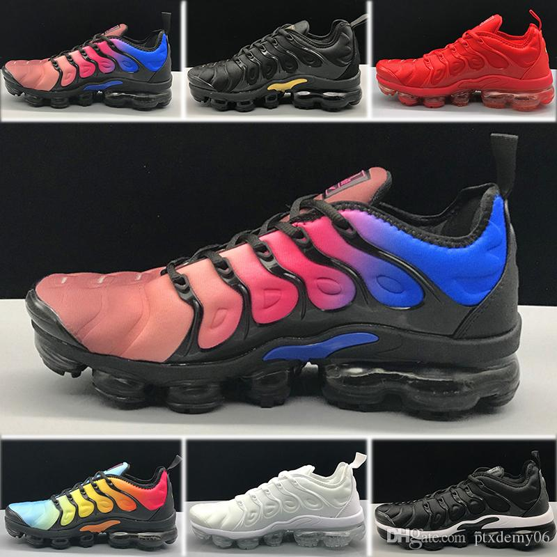 88889704891ce 2018 TN Plus Olive Mens Womens Sports Running Shoes Women Sneakers ...
