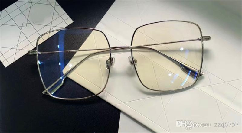 efbbd3375d 2019 New Fashion Designer Optical Glasses Metal Square Frame Simple Popular  Style Transparent Lens Clear Protection Eyewear From Zzq6757