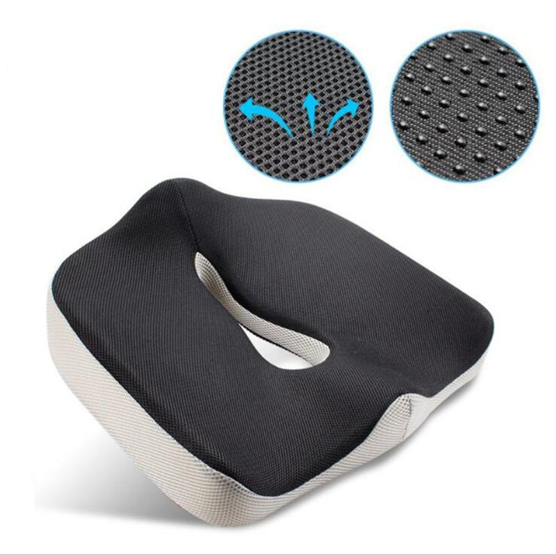Coccyx Orthopedic Memory Foam Seat Cushion For Chair Car Office Home Bottom  Seats Massage Cushion For Shaping Sexy Buttocks Blue Outdoor Chair Cushions  ...