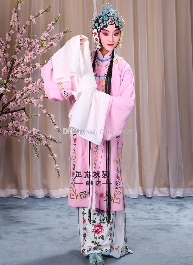 75449f3e33f 2019 New Carnival Garment Oriental Art Vestido Chinese Folk Dance Costume  Embroidered Opera Clothing Chinese Style Drama Performance Stage Wear From  ...