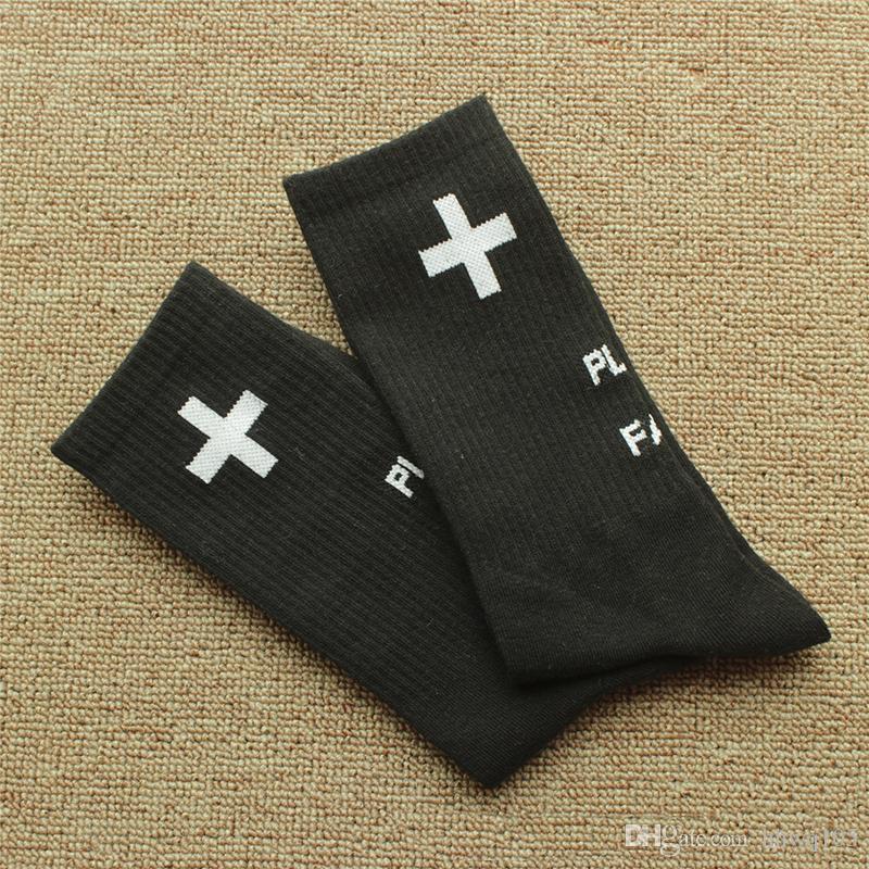Orte + Gesichter Sport Socken Mode Männer Frauen 100% Baumwolle P + F Strümpfe Hip Hop Skateboard Socken Basketball Fußball Strümpfe YH0108