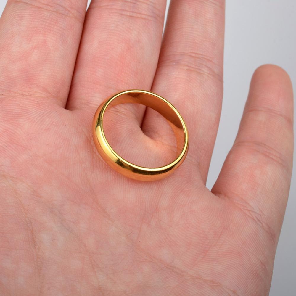 Wedding Rings For Women Anniyo Wedding Rings For Women/Girl Gold ...
