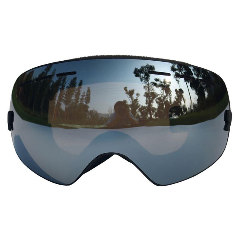 9d26c044cfc Spherical Ski Goggles Anti-fog Double Layers UV400 Big Ski Mask ...