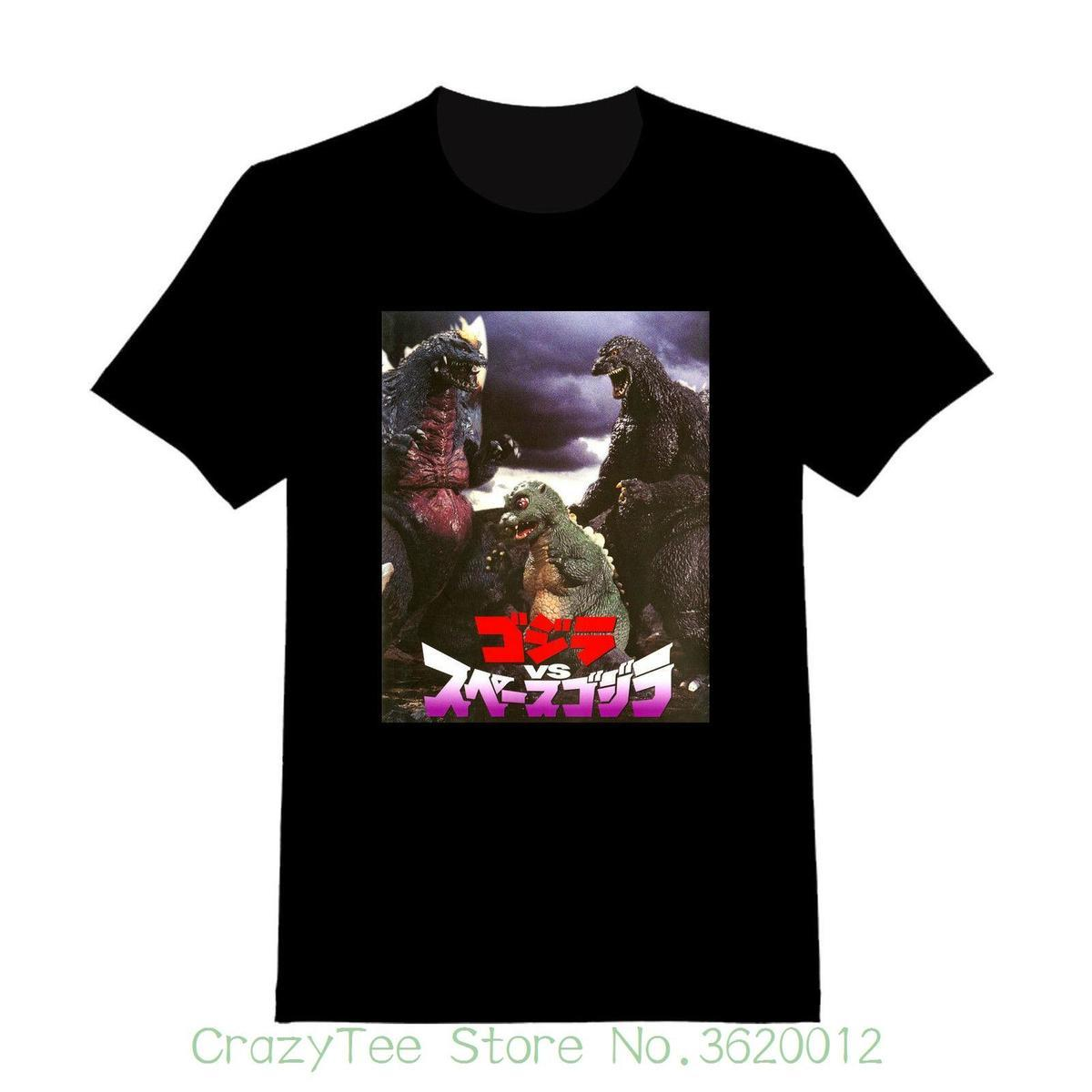 Women's Tee Godzilla Vs Spacegodzilla #2 - Custom Adult T-shirt ( 176 ) Female T-shirt Kawaii Punk Tops Tee