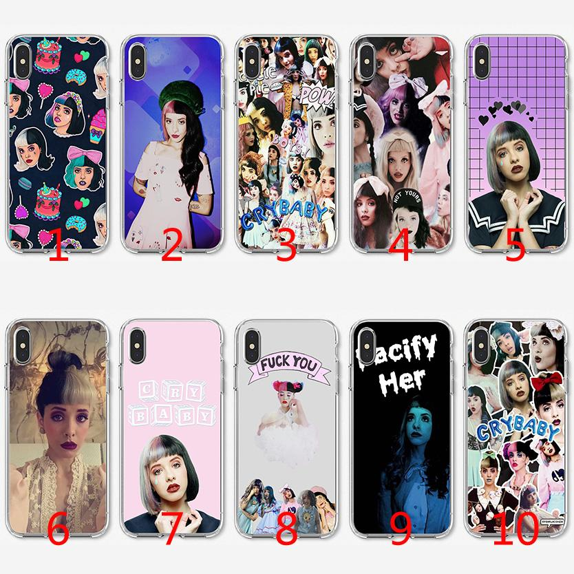 new product 2c8e8 353df Melanie Martinez Bad Girl Soft Silicone TPU Case for iPhone X XS Max XR 8 7  Plus 6 6s Plus 5 5s SE Cover