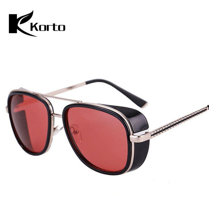 38507f5d15f Iron Man 3 Matsuda Steampunk Sunglasses Tony Stark Sun Glasses 2018 Men  Women Eyewear Brand Designer Robert Downey JR Glasses Designer Sunglasses  Sunglasses ...