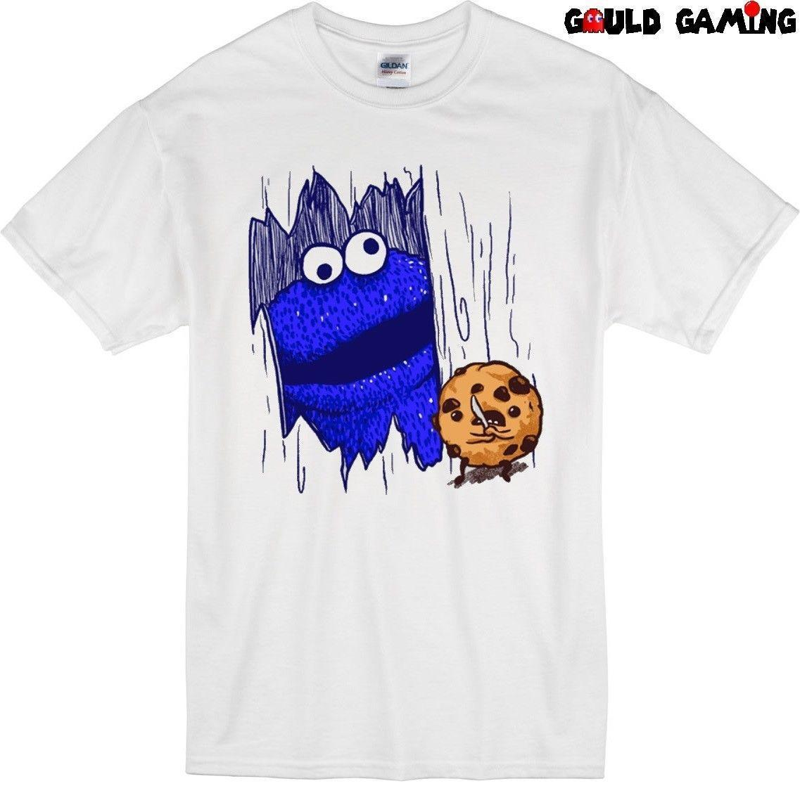 fea1e326621 Cookie Monster The Shining T Shirt Unisex Adult Funny Sizes Sesame Street  New T Shirts Funky Tee Shirt For Sale From Amesion95