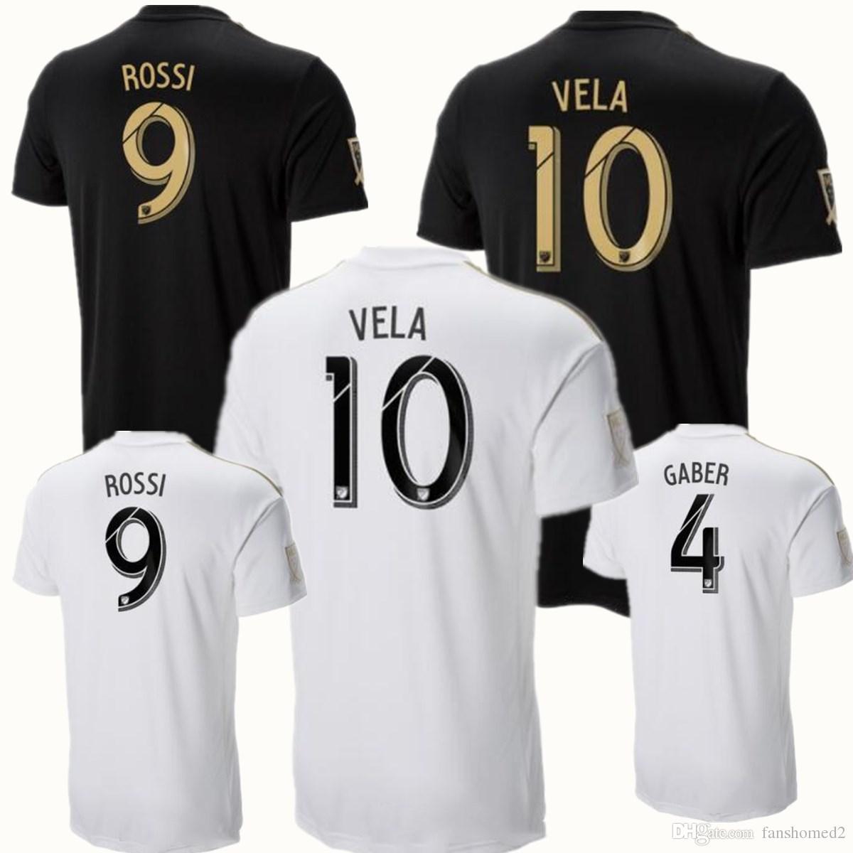 e46c84f1d3ed3 2018 18 19 Los Angeles FC LA ROSSI VELA GABER CAMISETAS FUTBOL Camiseta De Fútbol  Camisetas Futbol Tailandia Calidad 18 19 Adultos Camisetas De Fútbol Por ...