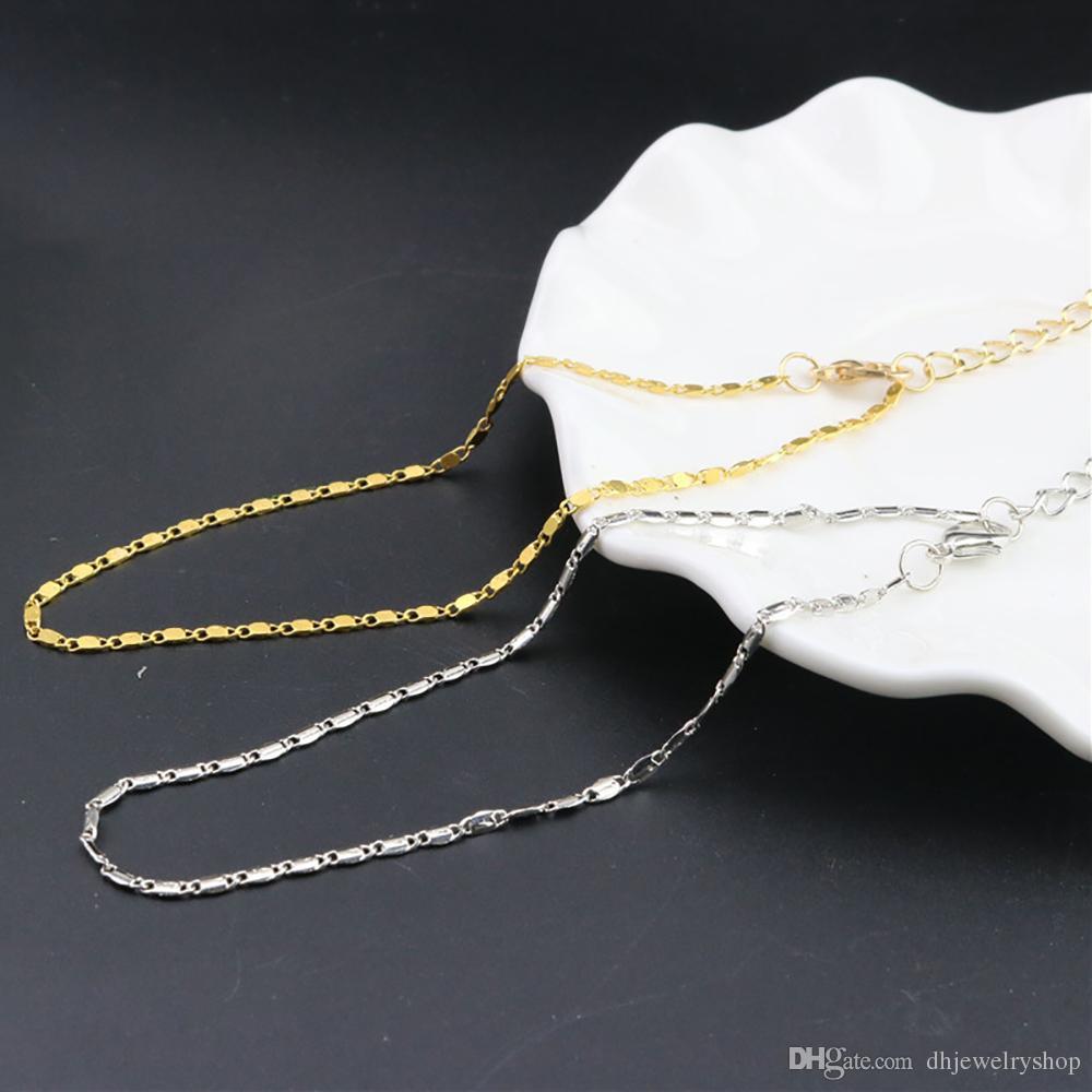 Мода Женщин Простой Золотой Цепи Щиколотке Лодыжки Браслет Босиком Сандалии Пляж Ног Ювелирные Изделия