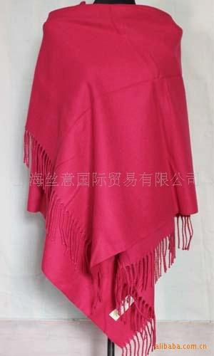 High Quality Black Female Wool Pashmina Shawl Scarf Autumn Winter Warm Cashmere Muffler Solid Color Cape Tippet 180*72cm C019